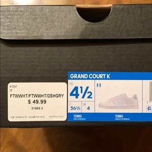 adidas Shoes - Adidas Grand Court - iridescent.